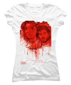 The Red Wedding Game Of Thrones White organic cotton t-shirt for women by We The Chic India