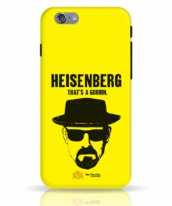 That's A Goorin Breaking Bad Apple iPhone 6S Cover and Case India