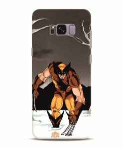 Wolverine - Sketch by Rohith Reddy SAMSUNG Galaxy S8 PLUS Mobile Cover and Case India