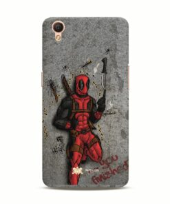 You Finished deadpool OPPO A37 mobile cover and case india